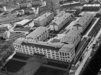 Вид на ЧГУ с высоты, 1967 год