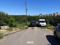 Парковка с отличным видом на улице Кочубея