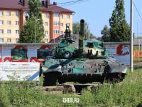 Танк Т-80УД в Цивильске