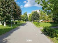 Пешеходная часть улицы Винокурова
