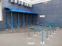"Парковка для колясок и велосипедов клиники ""Доктор Заботик"""