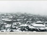 Вид с улицы Сеспеля, 1968 год