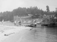 """Причал у дома отдыха """"Кувшинский"""", 1933 год"""