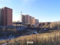 Овраг между районом Ленты и технопарком