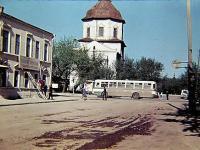 Угол улиц Чернышевского и Розы Люксембург, 1974 год