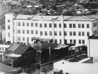 Улица Ленинградская от ул. Плеханова до ул. Нижегородской, 1977 год