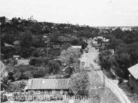 Вид на ул. Заводская с Московского моста в сторону зелёного базара