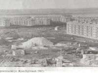 Строительство домов на ул. Жени Крутовой, 1962 год