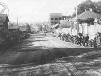 Ремонт дороги по улице Ленинрадская, 1931 год
