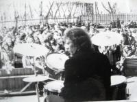 Парк Крупской. Последний сезон работы танцплощадки 1979