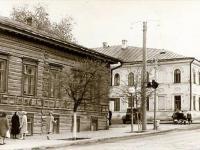 Улица К.Маркса. Перекрёсток с ул. Плеханова. Дома №5 и 7. 1964