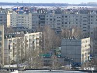 Вид на Новоюжный район
