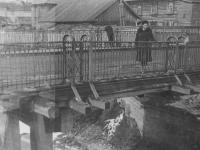Мост по улице Союзной, 1950-е годы