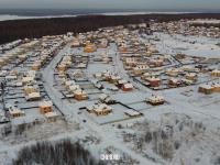 Панорама Тихой Слободы, зима 2021 года