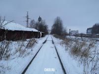 Железная дорога зимой