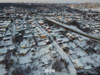 Вид сверху на улицу Толстого