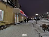 """Зимний вечер у торгового дома """"Москва"""""""