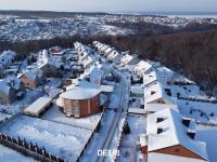 Вид сверху на улицу Васильковая
