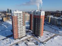 25-этажные башни на улице Ярмарочная