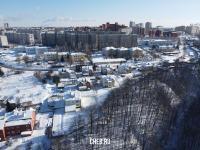 Вид сверху на коттеджи по ул. Ромашковая
