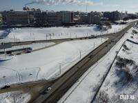 Пересечение 30-й автодороги и Президентского бульвара