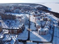 Вид сверху на улицу Юрьева
