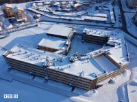 Вид сверху на школу на Волжском-3