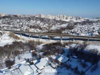 Вид на Октябрьский мост