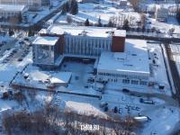 Вид сверху на Дом торговли