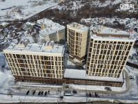 Вид сверху на ул. Калинина 25