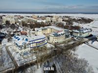 Вид сверху на улицу Нижегородская