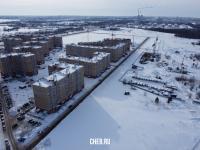 Вид сверху на западную часть Нового города