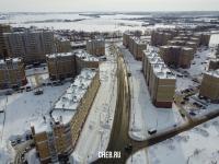 Вид сверху на улицу Прокопьева