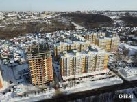 Вид сверху на Новая Богданка