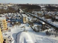 Вид сверху на район улицы Фучика