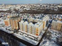 Вид сверху на Новую Богданку