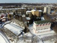 Вид сверху на Гуманитарный институт