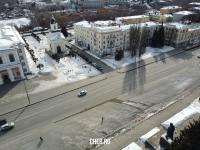 Вид сверху на площадь Республики
