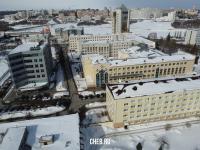 Вид сверху на улицу Кооперативная