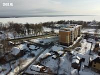 Вид сверху на улицу Красноармейская