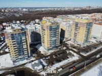 Три высотки на улице Гладкова