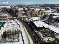 Вид сверху на улицу Пирогова