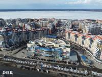 Вид сверху на микрорайон Волжский-3