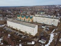 Вид сверху на дома по улице Ярославская