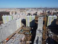 Строительство микрорайона Солнечный