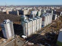 Вид сверху на микрорайон Солнечный - ул. Таллерова 6