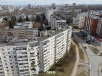 Вид сверху на дома по улице Ахазова