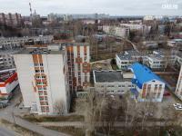 Вид сверху на ул. Пирогова 18к1
