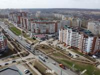 Вид сверху на улицу Университетская