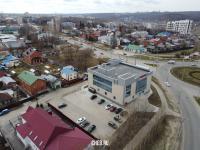 Вид сверху на ТД Будайка - ул. Толстого 3